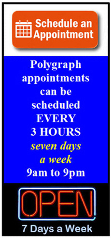 Agoura polygraph appointment